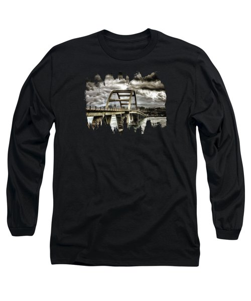 Alsea Bay Bridge Long Sleeve T-Shirt