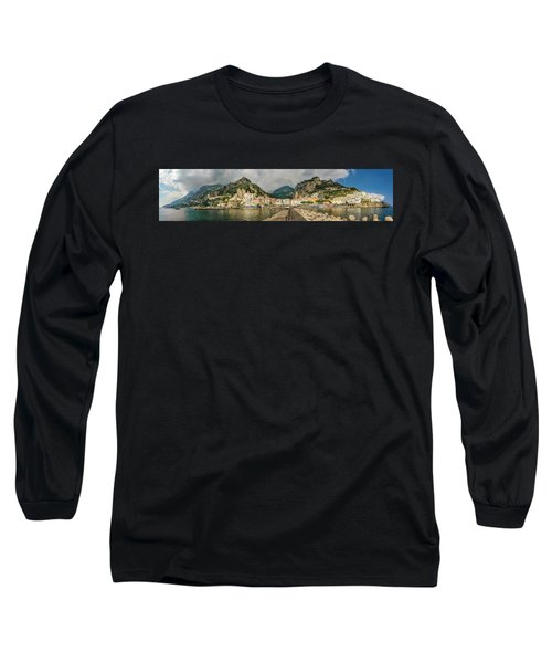 Long Sleeve T-Shirt featuring the photograph Amalfi by Steven Sparks