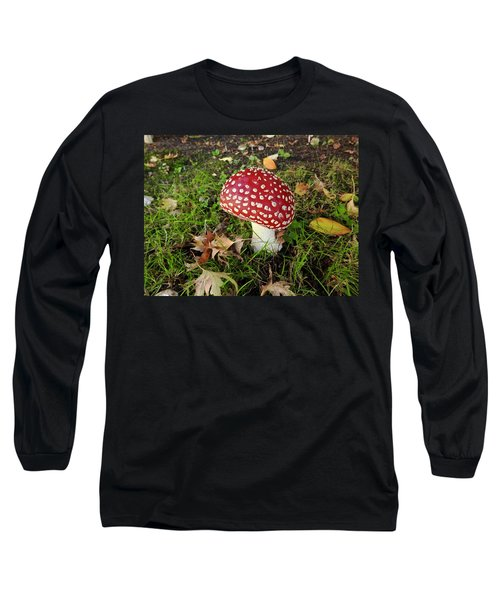 Amanita Mascara Long Sleeve T-Shirt