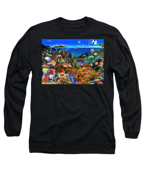 Amazing Coral Reef Long Sleeve T-Shirt