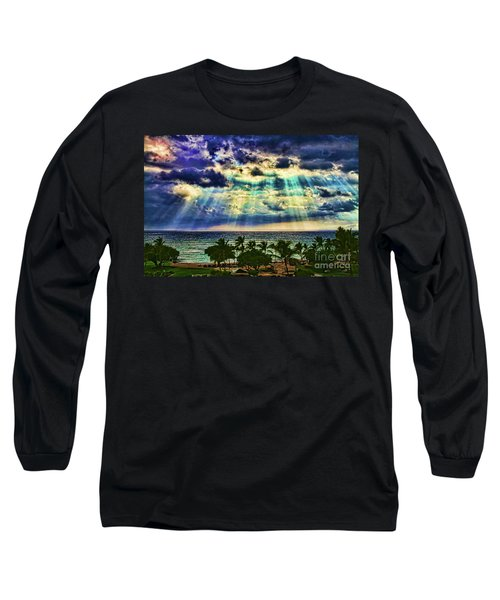 Amazing Grace - Sun Rays Before Sunset By Diana Sainz Long Sleeve T-Shirt