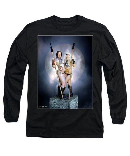 Amazon With Spears Long Sleeve T-Shirt