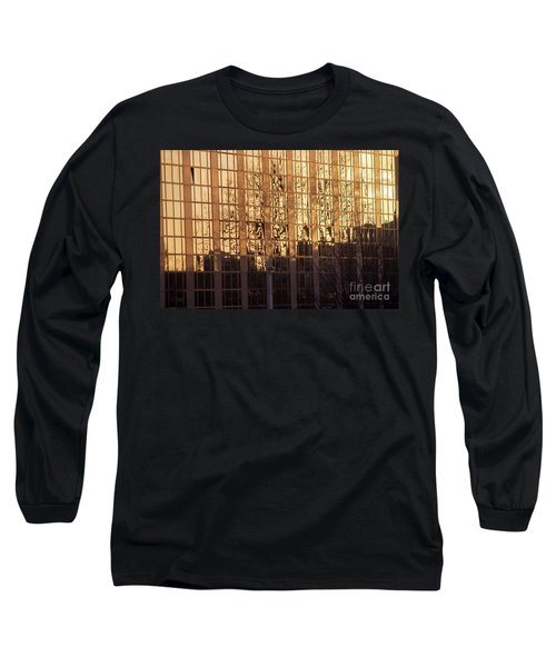 Amber Window Long Sleeve T-Shirt by Ana Mireles