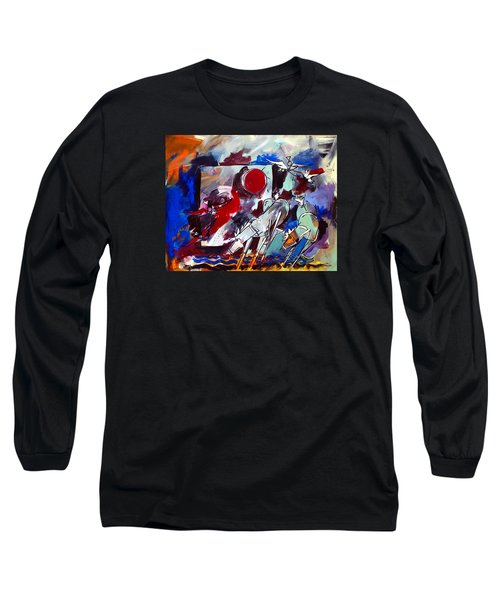 Ameeba 36-horses By The Sea 2 Long Sleeve T-Shirt