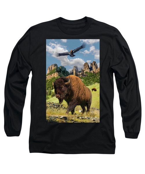 American Bison Long Sleeve T-Shirt