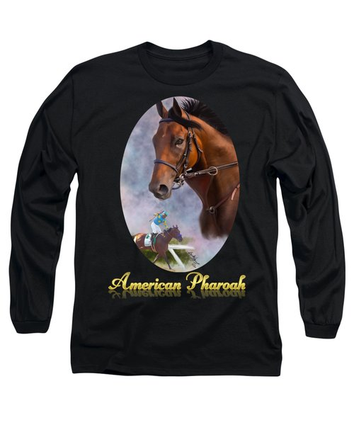American Pharoah Framed Long Sleeve T-Shirt