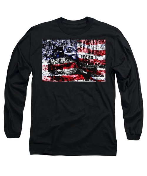 American Rock Crawler Long Sleeve T-Shirt