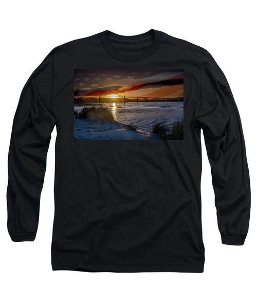 American Skies Long Sleeve T-Shirt