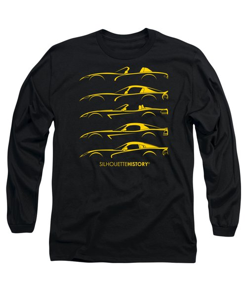 American Snakes Silhouettehistory Long Sleeve T-Shirt