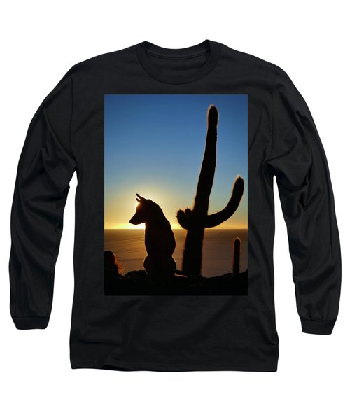 Long Sleeve T-Shirt featuring the photograph Amigo by Skip Hunt