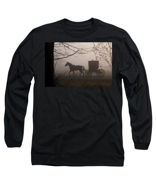 Amish Morning 1 Long Sleeve T-Shirt