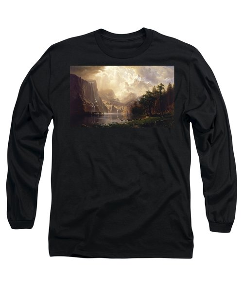 Among The Sierra Nevada Long Sleeve T-Shirt