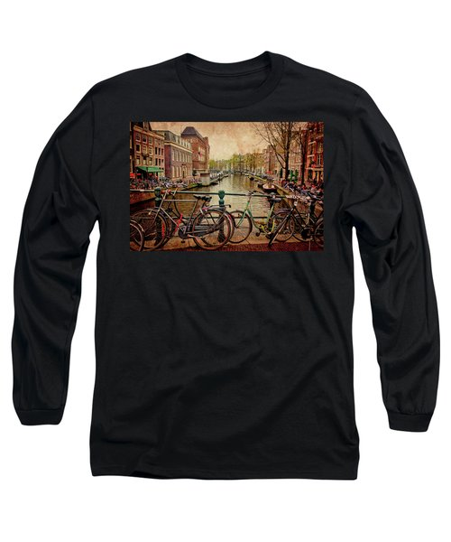 Amsterdam Canal Long Sleeve T-Shirt