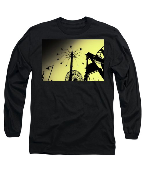 Amusements In Silhouette Long Sleeve T-Shirt