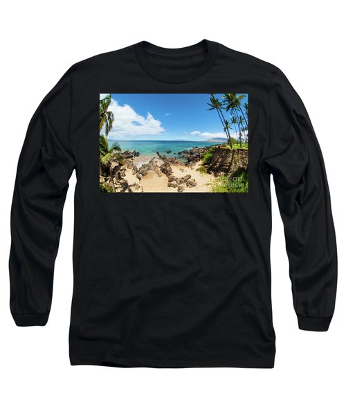 Long Sleeve T-Shirt featuring the photograph Amzing Beach In Hawaii Islands by Micah May
