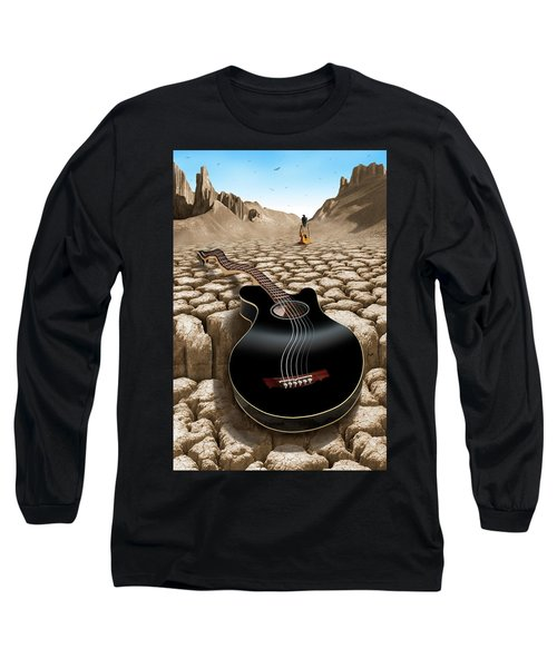 An Acoustic Nightmare 2 Long Sleeve T-Shirt by Mike McGlothlen