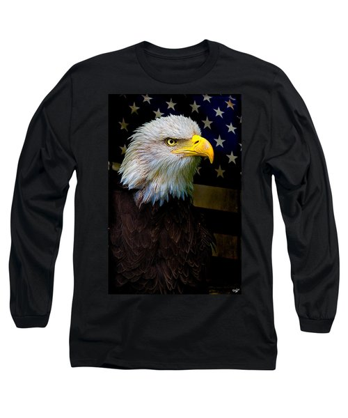 An American Icon Long Sleeve T-Shirt by Chris Lord
