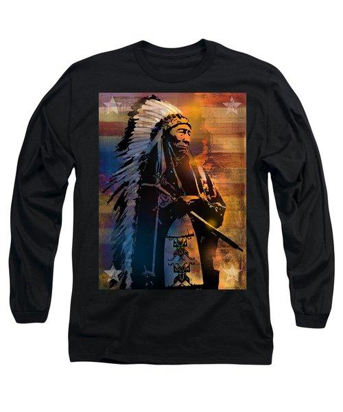 An American Sunrise Long Sleeve T-Shirt