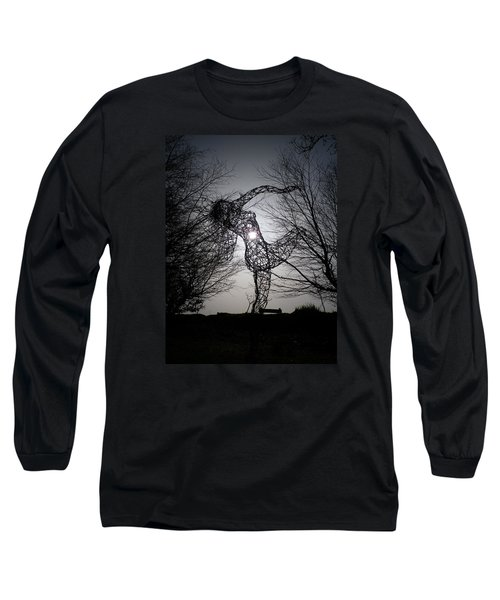 An Eclipse Of The Heart? Long Sleeve T-Shirt by Richard Brookes