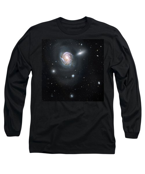 Long Sleeve T-Shirt featuring the photograph An Island Universe In The Coma Cluster by Nasa