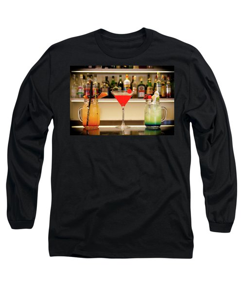 An Italian Drink Long Sleeve T-Shirt
