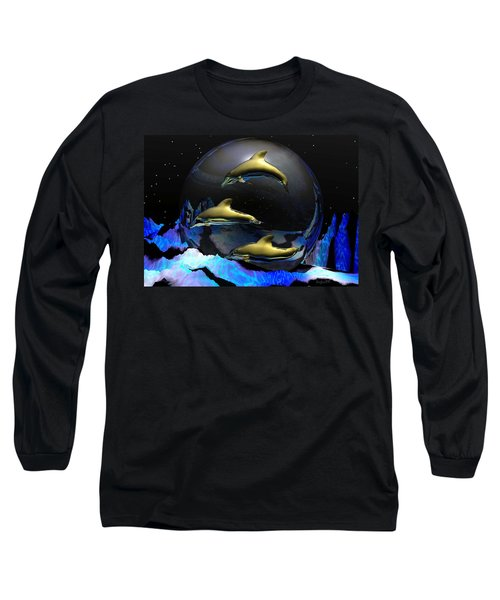 An Ocean Filled With Tears- Long Sleeve T-Shirt