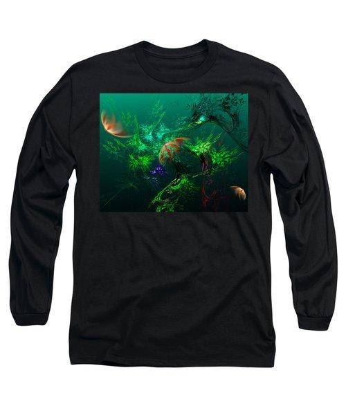 An Octopus's Garden Long Sleeve T-Shirt