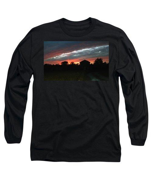 An Old Farm Long Sleeve T-Shirt