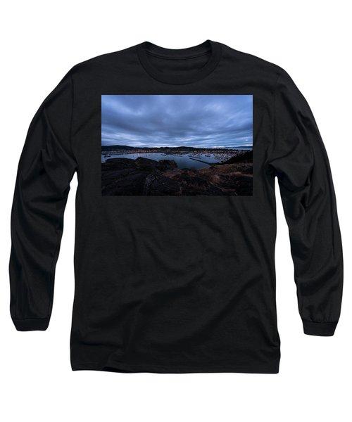 Anacortes  Long Sleeve T-Shirt by Sabine Edrissi
