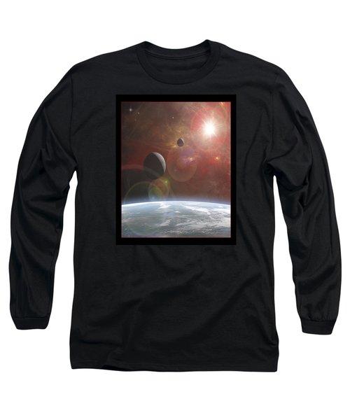 Ananke Long Sleeve T-Shirt by Mark T Allen