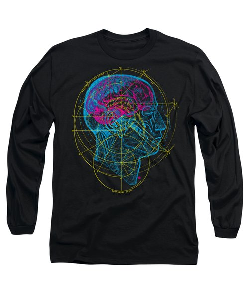 Anatomy Brain Long Sleeve T-Shirt