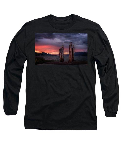 Ancestors Long Sleeve T-Shirt by John Poon