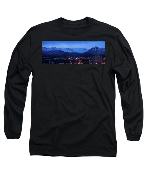 Anchorage At Sunrise Long Sleeve T-Shirt