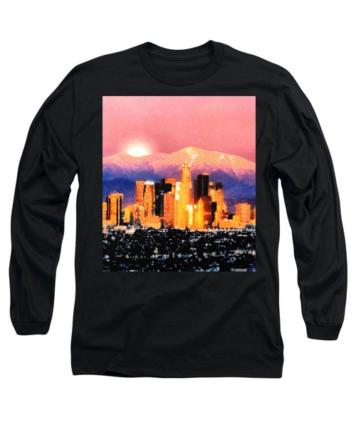 Anchorage Long Sleeve T-Shirt by Elaine Ossipov