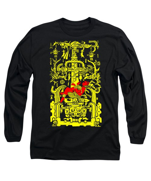 Ancient Astronaut Yellow And Red Version Long Sleeve T-Shirt