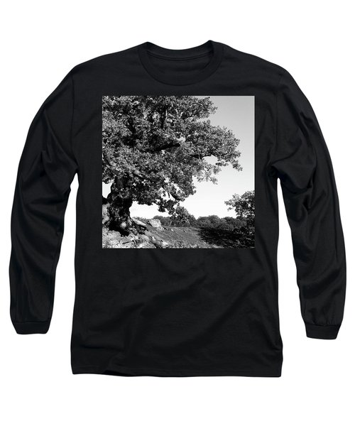Ancient Oak, Bradgate Park Long Sleeve T-Shirt