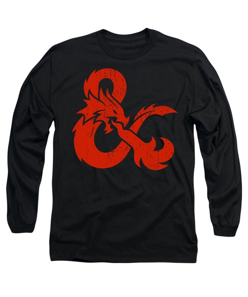 And Logo With Dragon Long Sleeve T-Shirt