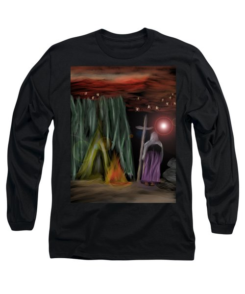 And The Fourth Angel Sounded Long Sleeve T-Shirt