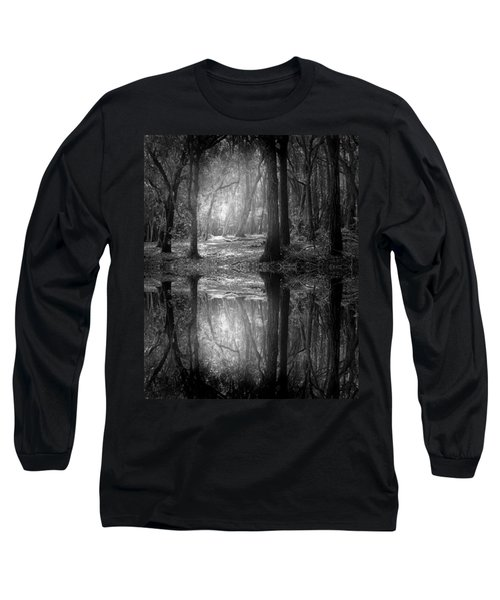 And There Is Light In This Dark Forest Long Sleeve T-Shirt