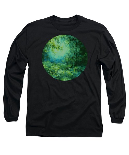 And Time Stood Still Long Sleeve T-Shirt by Mary Wolf