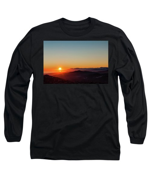 Andalucian Sunset Long Sleeve T-Shirt