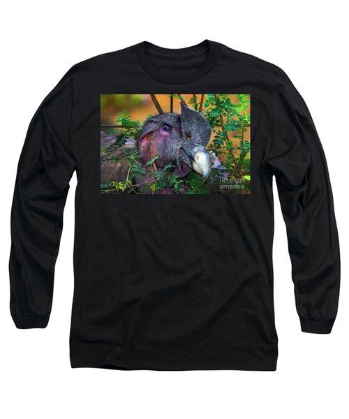 Andean Condor At Amaru II Long Sleeve T-Shirt