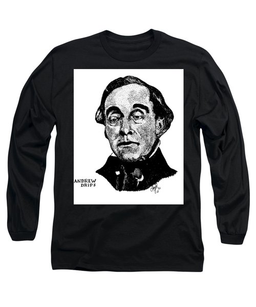 Andrew Drips Long Sleeve T-Shirt
