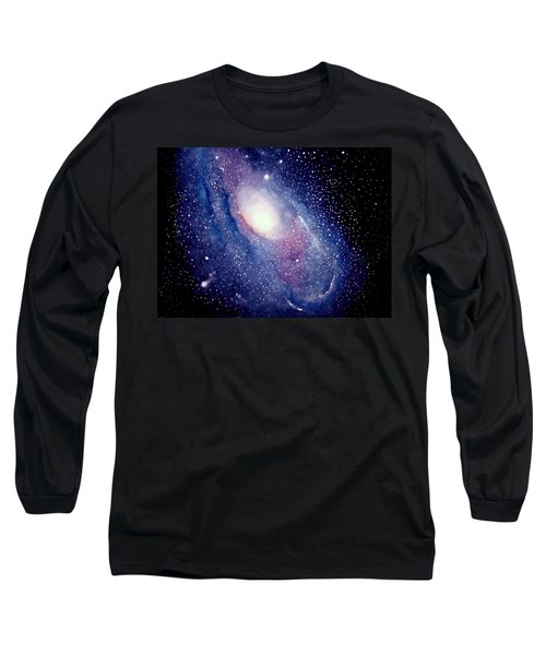 Andromeda Galaxy Long Sleeve T-Shirt