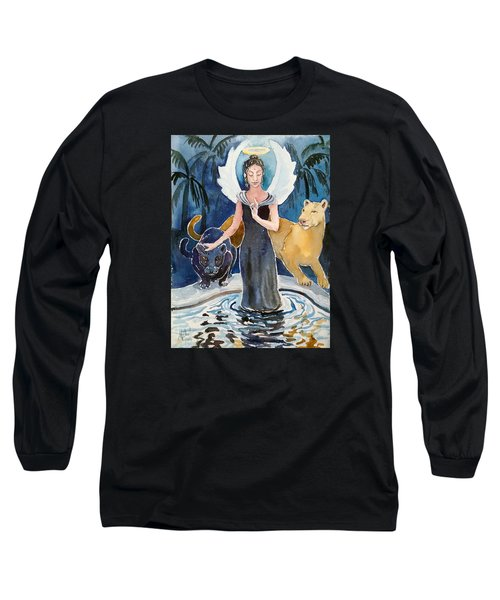 Angel Of Balance And Harmony Long Sleeve T-Shirt