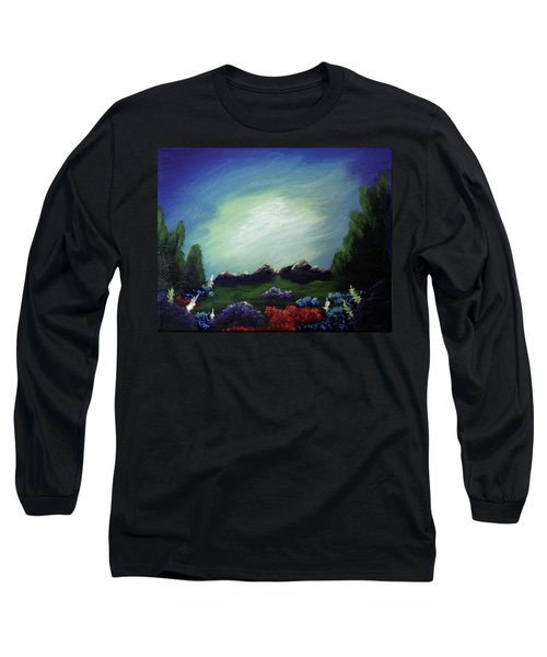 Angel On The Rocks Long Sleeve T-Shirt