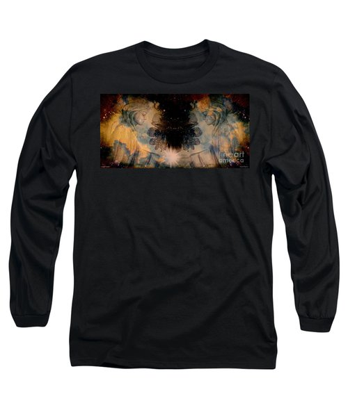 Angels Administering Spiritual Gifts Long Sleeve T-Shirt by Leanne Seymour