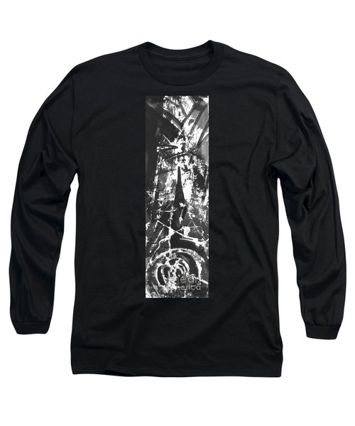 Long Sleeve T-Shirt featuring the painting Anger by Carol Rashawnna Williams
