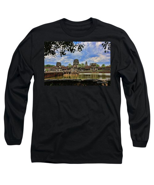 Angkor Wat Panorama  Long Sleeve T-Shirt