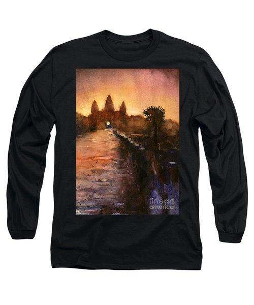 Angkor Wat Sunrise 2 Long Sleeve T-Shirt